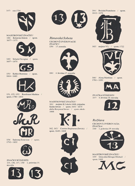 Stredoveké zlatnícke značky